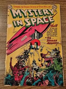 MYSTERY IN SPACE #12 (DC 1953) FAIR/GOOD GOLDEN AGE SCI FI