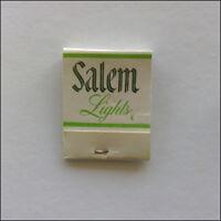 Salem Lights Menthol Fresh The Only Low Tar Matchbook (MK30)