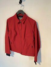Prada Sport Red Nylon Windbreaker Jacket