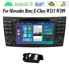 "For Mercedes-Benz E-W211 CLS-W219 7"" Android Car Stereo DVD GPS Radio Wifi 4G US"