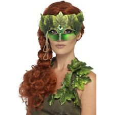 Adult Forest Nymph Eye Mask Ladies Halloween Fancy Dress Accessory New