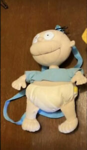 Rugrats Backpack Plush Tommy - preowned 1998