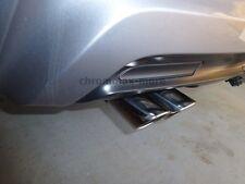 Chrom BMW 3er E90 E91 E92 E93 Auspuffblende 2teilig aus Edelstahl