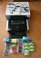 Canon PIXMA iP3500 Photo Inkjet Printer w/ Box and a Bunch of Ink