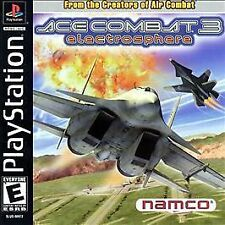 Ace Combat 3: Electrosphere (Sony PlayStation 1, 2000)