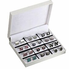 Elegant Cufflink Gift Set Men's Cuff Links 12 Pack Wedding Party Gift Set