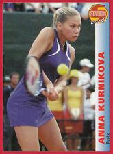 STADION CARD #17 Anna Kournikova - Russia / USA, tennis 2000