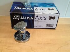 "Aqualisa,Chrome Shower Head,2""Rose,Swivel Flow Spray,rrp £59.00,"