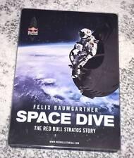 SPACE DIVE - THE RED BULL STRATOS STORY BLU-RAY DISC DVD DEUTSCHES STEELBOOK NEU