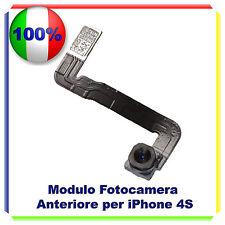 FOTOCAMERA FRONTALE PER IPHONE 4S CON FLAT CAMERA ANTERIORE 4S