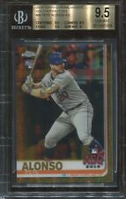 2019 Topps Chrome Update Gold Refractor #86 Pete Alonso Rk BGS 9.5 (psa 10)  /50