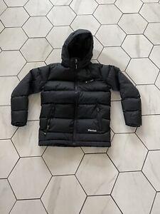 Marmot Down Jacket 700 Fill Kids / Youth size L Color Black