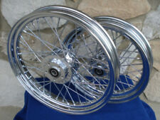 "FOR HARLEY 2000-05 40 SPOKE 21"" FRONT/16"" REAR WHEEL SET PARTS"