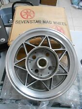 "NOS Henry Abe Seven Star Mag 3.00 x 16"" Rear Drum Wheel Rim Honda 1969-76 CB750"