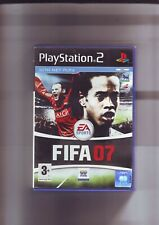 FIFA FOOTBALL 2007 07 - PLAYSTATION PS2 GAME - FAST POST - ORIGINAL & COMPLETE