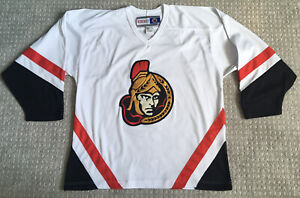 OTTAWA SENATORS White Large Jersey - NHL CCM