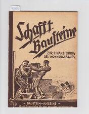 Crée Blocs de construction pour le financement du logement baues Speyer 1949 O. Hanemann