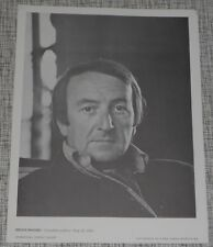 Brian Moore - Author - 1974  International Portrait Gallery Photo Print