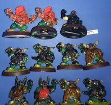 3rd Edition Dwarf Team 11 Man - Blood Bowl Bloodbowl METAL Dwarven Grudgebearers