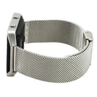 1X(Wristband Strap for Fit Fitbit Blaze Activity Tracker Watch (Silver) B7S2)