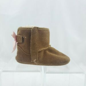 Ugg Jesse Boots Uggs Usa Toddlers 4/5 Tan Pink Genuine Booties
