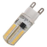 10 x G9 5W Luz de Lampara Regulable SMD 3014 72 LED 220V Blanco calido Foco S3H1