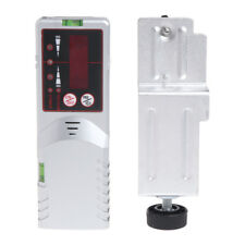 Level Laser Detector Red Beam Light 635nm Cross Line Outdoor Receiver with Clamp