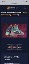 "Limited edition ""What The MVP"" Lebron James Digital NFT Read Description"