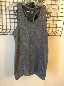 Zyia Active Grey Workout Tank Top Size S