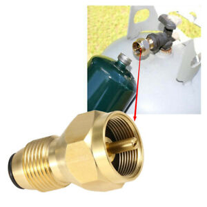Tank For Camping Cooking BBQ Connector Propane Refill Adapter Coupler Heater