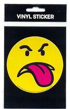 Smiley Framboise Nouveauté Vinyle Autocollant cardées