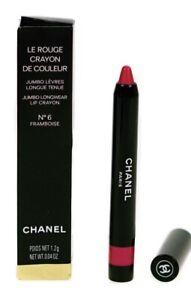 Chanel Le Rouge Crayon De Couleur Jumbo Longwear Lip Crayon No 6 Framboise BNIB