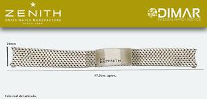 Replacement Bracelet Original Zenith, Steel REF.003 Type Mesh