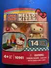 Mega Bloks Hello Kitty 10961 Campfire 14 Pieces Includes Figure New