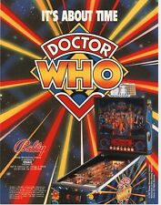 1992 BALLY MIDWAY DOCTOR WHO PINBALL FLYER