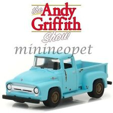 GREENLIGHT 44770 E THE ANDY GRIFFITH SHOW 1956 FORD F-100 PICK UP 1/64 BLUE