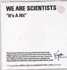 We Are Scientists-Its A Hit Promo cd single