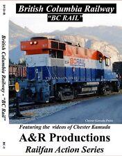 BRITISH COLUMBIA RAILWAY CLASSIC RAILROAD VIDEOS NEW DVD VIDEO