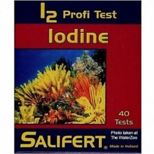 SALIFERT IODINE PROFI TEST KIT i2 MARINE FISH REEF