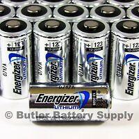 24 x CR123 Energizer 3V Lithium Batteries (CR123A, DL123, 123, EL123, CR17345)