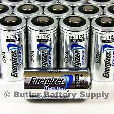 50 x CR123 Energizer 3V Lithium Batteries (CR123A, DL123, 123, EL123, CR17345)