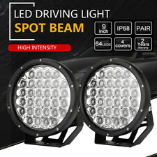 9inch 99999W Cree LED Driving Lights Spotlights 7D LENS Work Offroad 4x4 4WD ATV