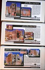 Downtown Deco HO Scale Skid Row Parts 1, 2 & 3 Hydrocal Craftsman Kits