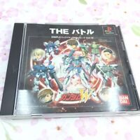 USED PS1 PlayStation1 SIMPLE 2000 Series Vol.13 Gundam W THE Battle 07473 JAPAN