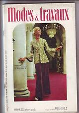modes et travaux decembre 1973 - numero 876