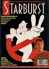 Starburst No.136 1989 JAMES CAMERON THE ABYSS, GHOSTBUSTERS 2