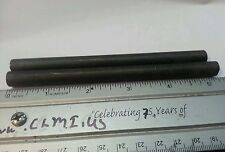 """Alnico 5 as cast rod 3/8"""" x  4"""" or 5"""" long 2 each magnetized on the ends N)---(S"""