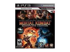Mortal Kombat Komplete Edition Playstation3 Game