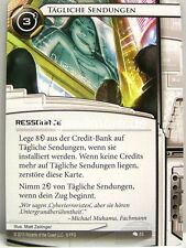 Android Netrunner LCG - 1x Tägliche Sendungen #053 - Kontrolle und Schöpfung dt.
