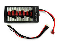 Paraboard Deans T-Plug Parallel Multi Charge Balance Board JST-XH LiPo LiHV NiMH
